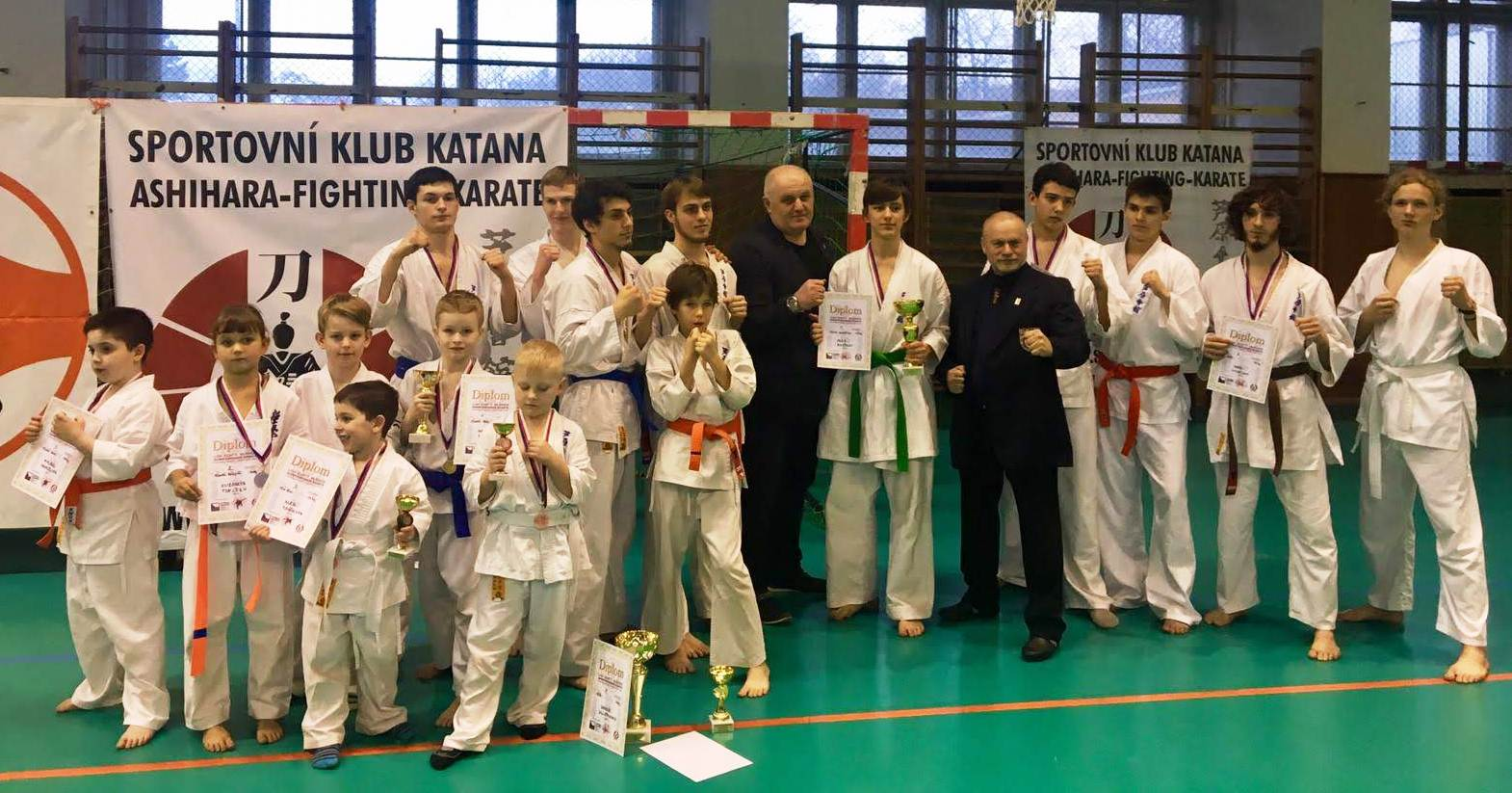 Jak dopadlo 1. kolo Ligy kumite v Shinkyokushin Karate 16. 3. 2019 v Praze