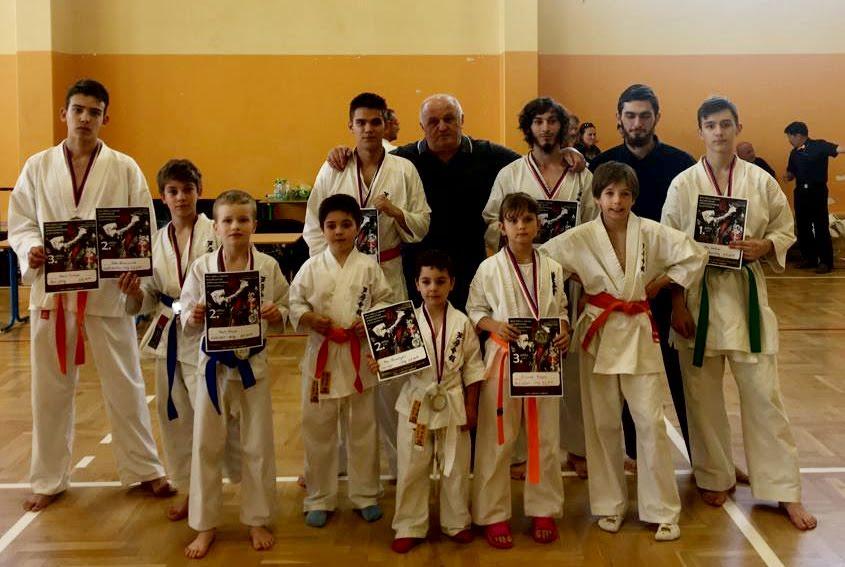 Výsledky Liga kumite Shinkyokushin karate 2. kolo 8. 6. 2019 Františkovy Lázně