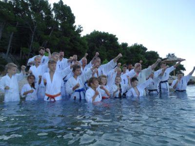 Fotogalerie-Mezinárodní karate tábor v Chorvatsku 9.-18. srpna 2019