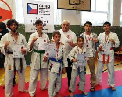 Jak proběhlo 3. kolo Ligy kumite Shinkyokushin Karate 5. 10. 2019 Klatovy